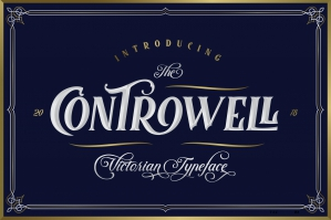 Controwell Victorian Typeface