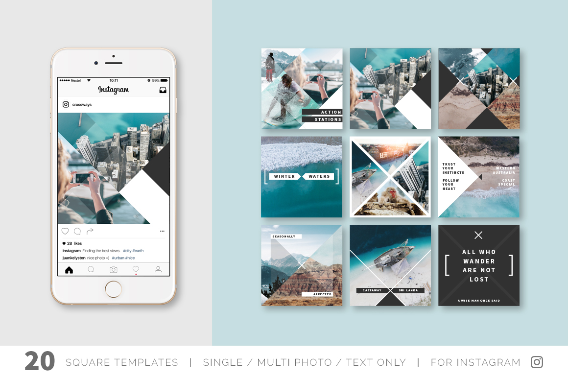 Crossways Social Media Template Pack