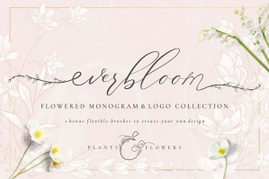 Flowered-Monogram-and-Logo-cover