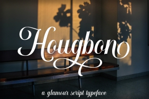 Hougbon-A-Glamour-Script-cover