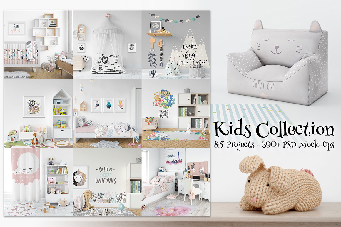 Kids Collection - 85 Mockup Collection