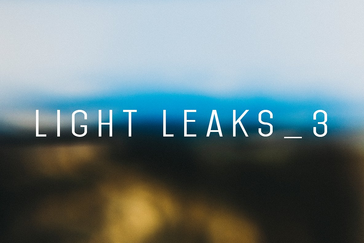 Light Leaks Vol. 3