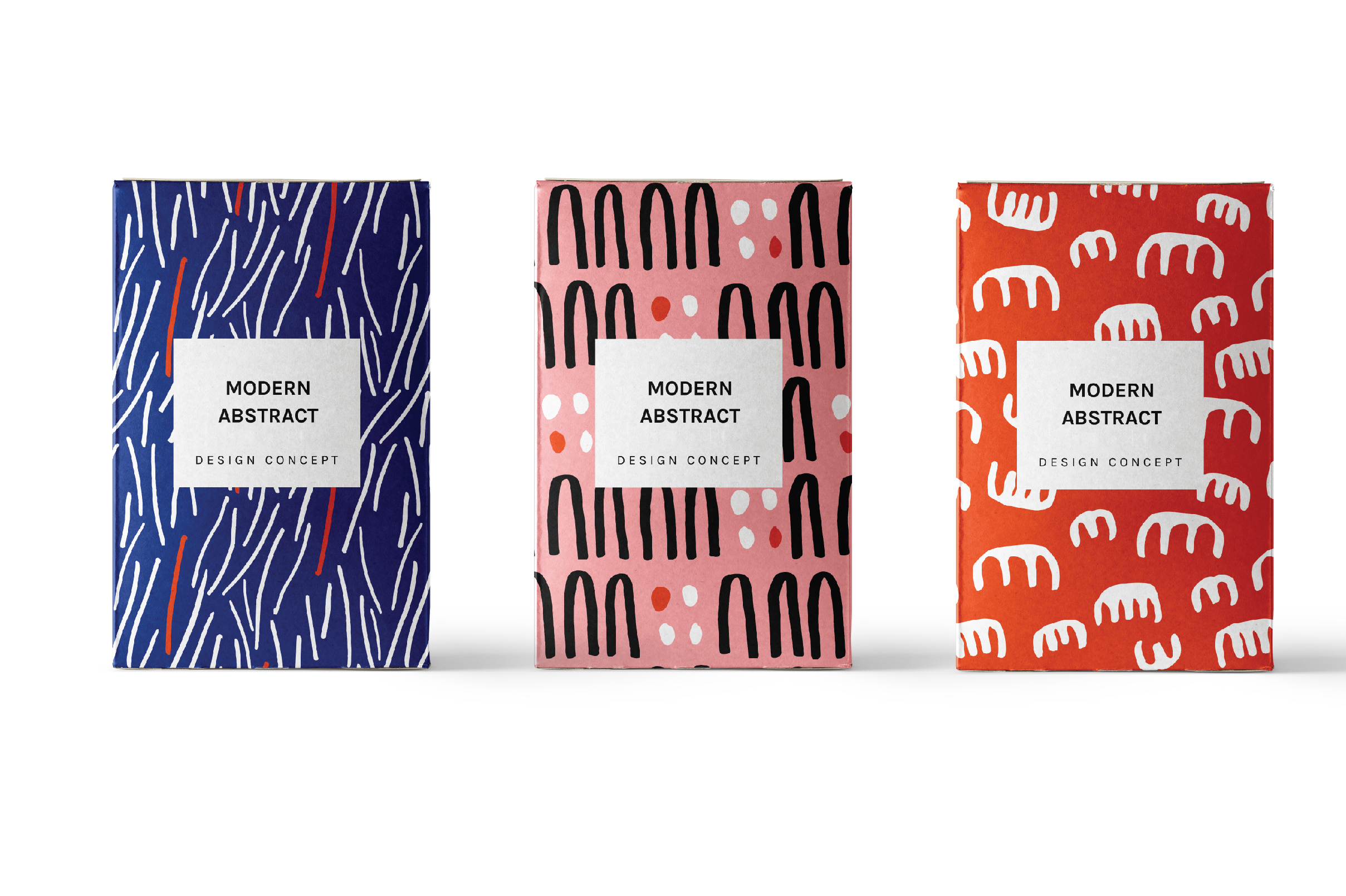 Modern Shapes - Patterns And Art Boards
