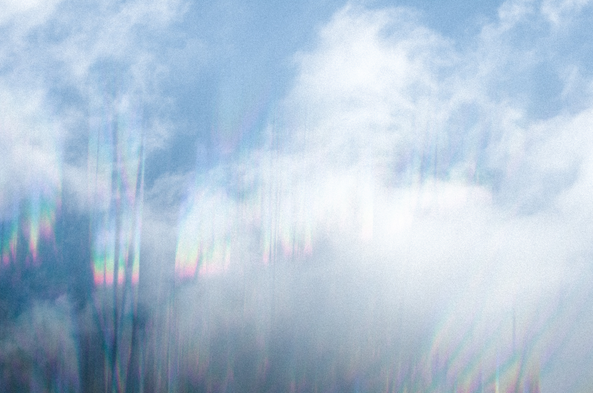 Natural Refraction Clouds