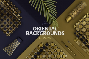 Oriental-Backgrounds-Collection-cover