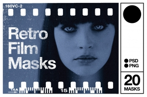 Retro Film Masks