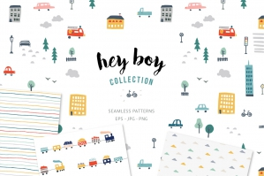 Seamless Patterns For Boys