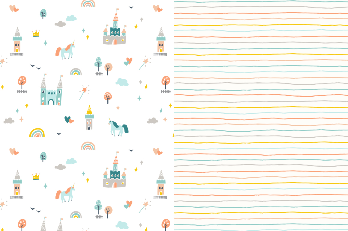 Seamless Patterns For Girls