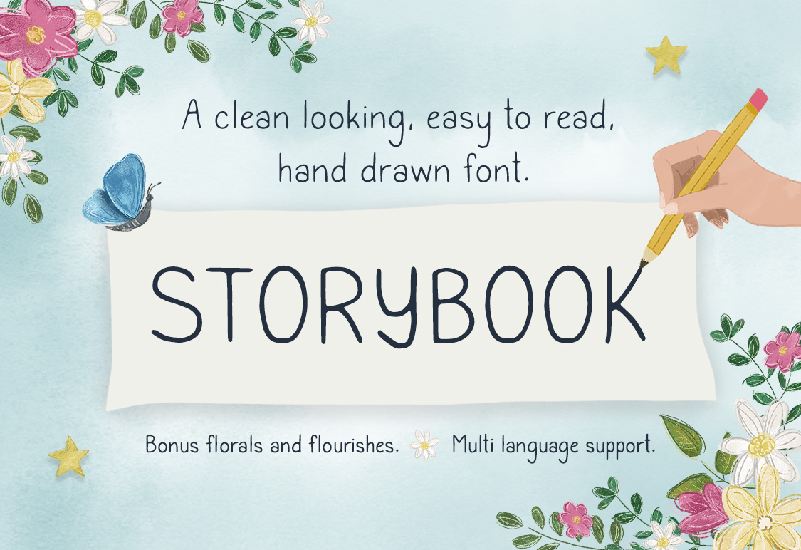 Storybook Regular & Bold Fonts