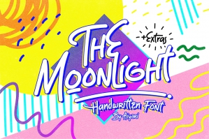 The Moonlight Typeface