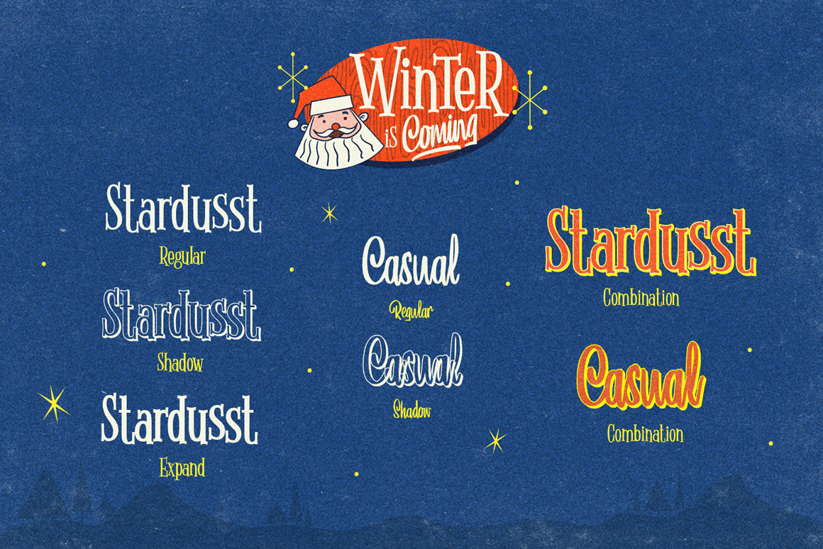 Winter Is Coming Font Family