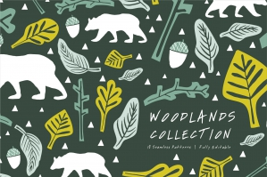 Woodlands-Seamless-Patterns-cover