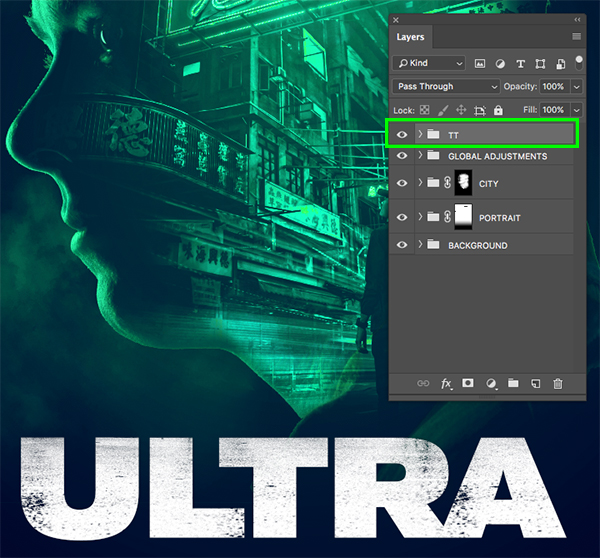Ultra Movie Poster Design