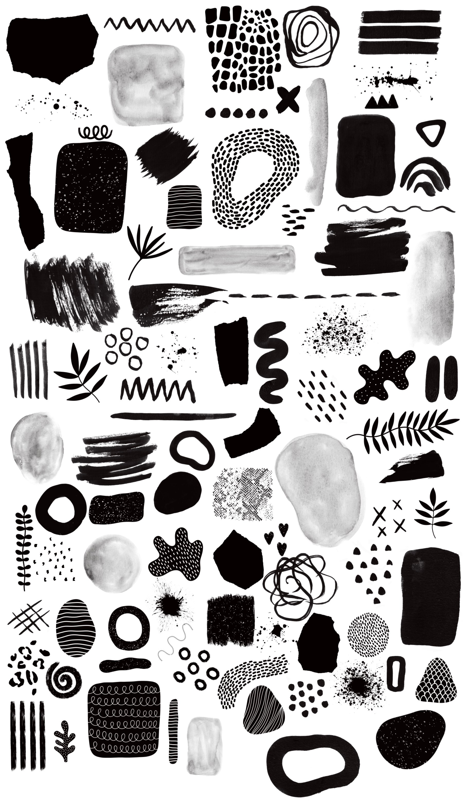 Abstract Stamps For Procreate