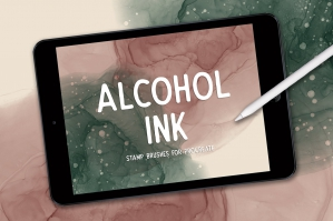 Alcohol-Ink-Stamps-For-Procreate-cover