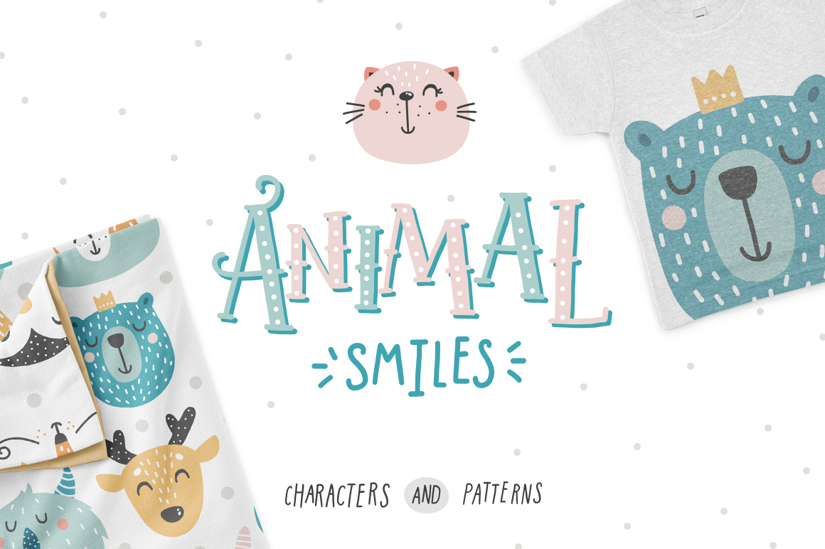 Animal Smiles - Characters And Patterns