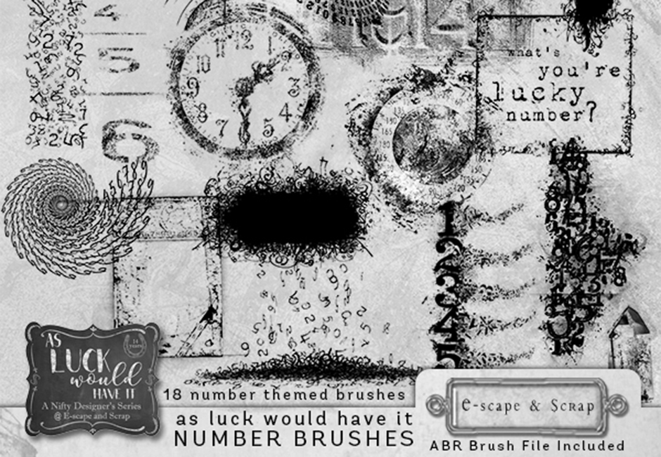 As Luck Would Have It Number Brushes