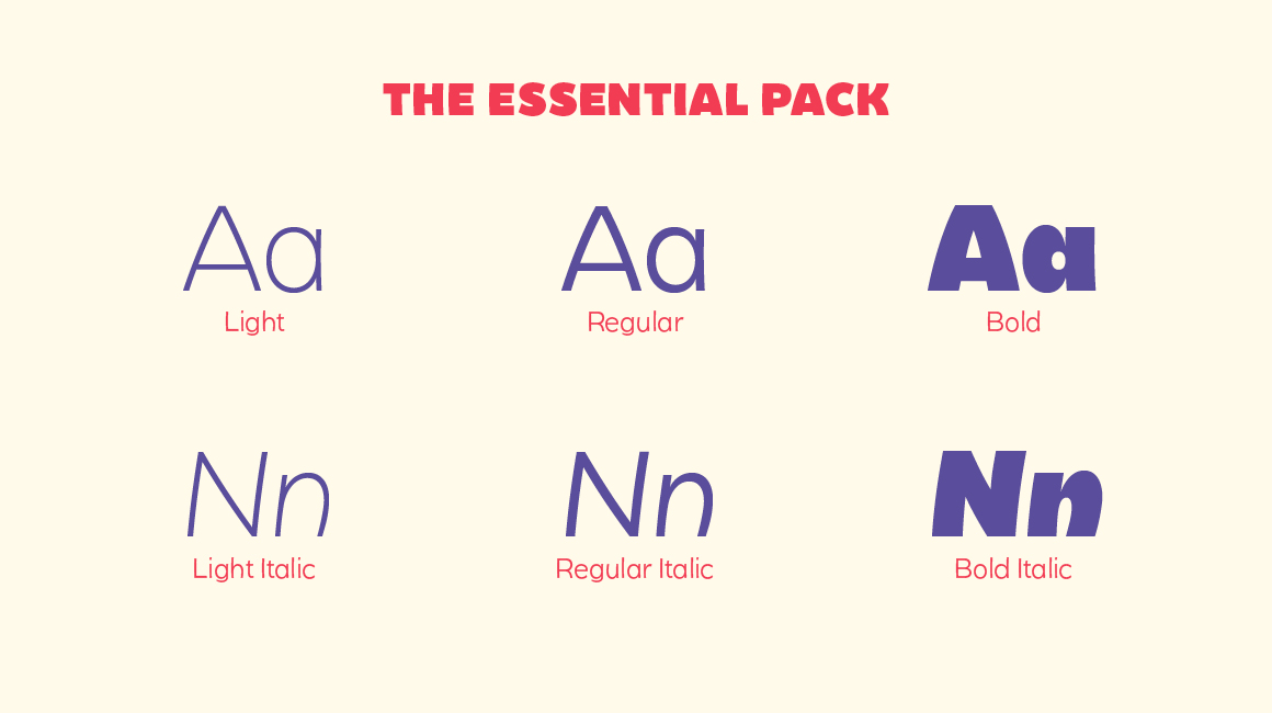 Becky Essential Typeface