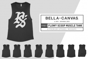 Bella Canvas 8803 Scoop Muscle Tank