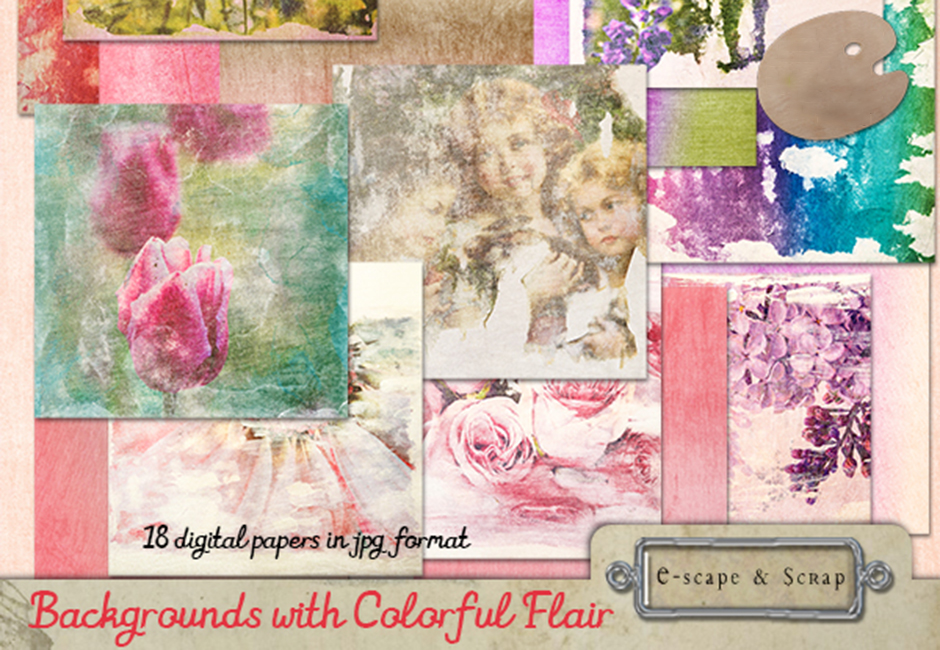 Colorful Flair Backgrounds