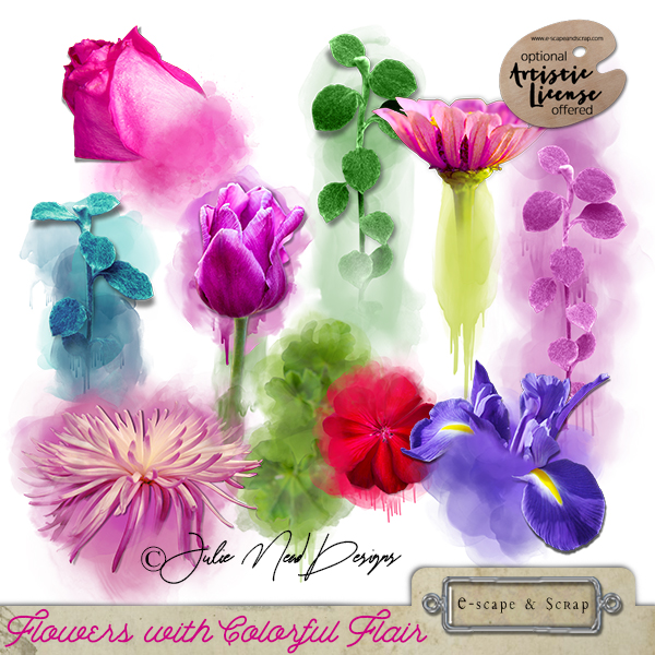 Colorful Flair Flowers