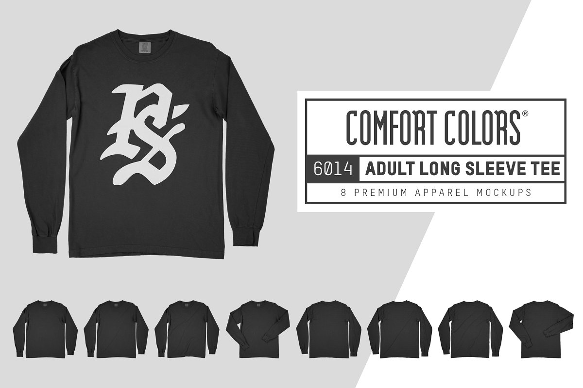 Comfort Colors 6014 Long Sleeve Tee - Design Cuts