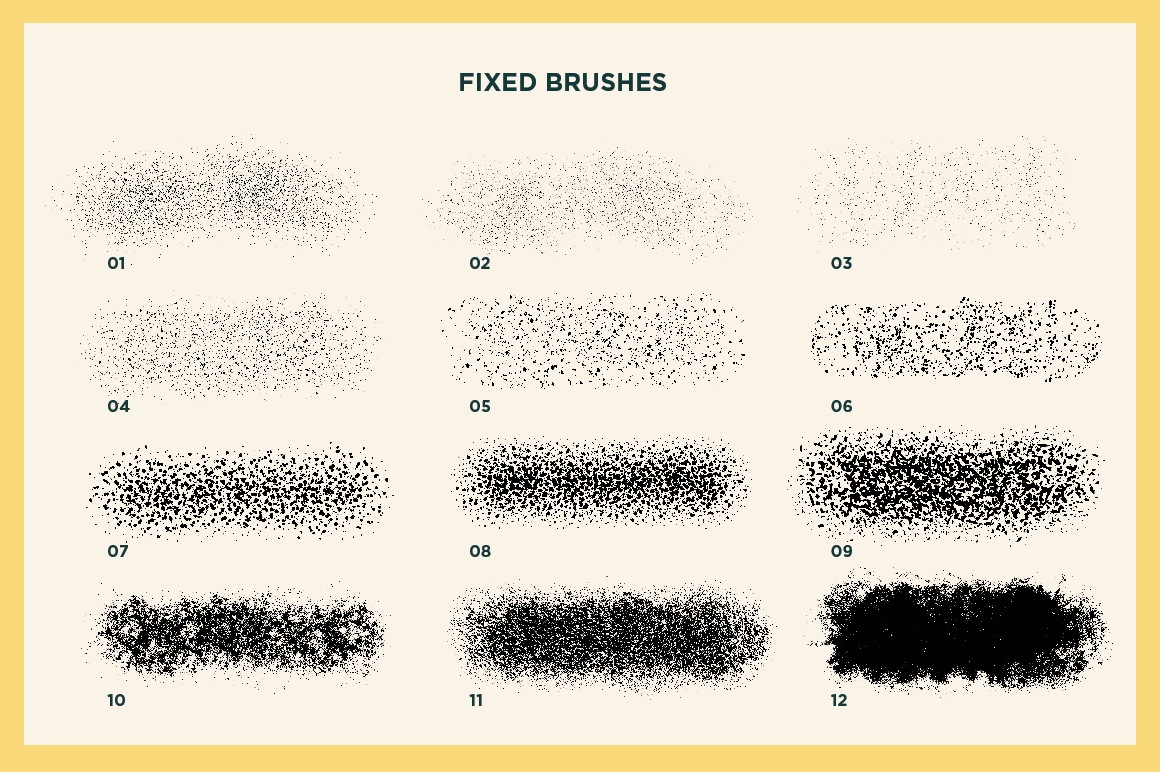 Gouache Shader Brushes For Procreate