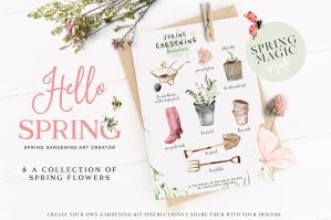 Hello-Spring-Watercolor-Gardening-Graphics-cover