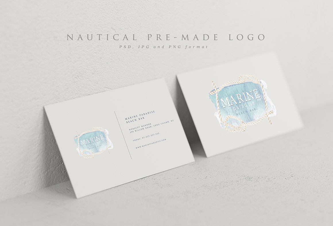Marina Bloom - Nautical Graphic Set