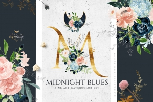 Midnight-Blues-Fine-Art-Watercolorcover-cover