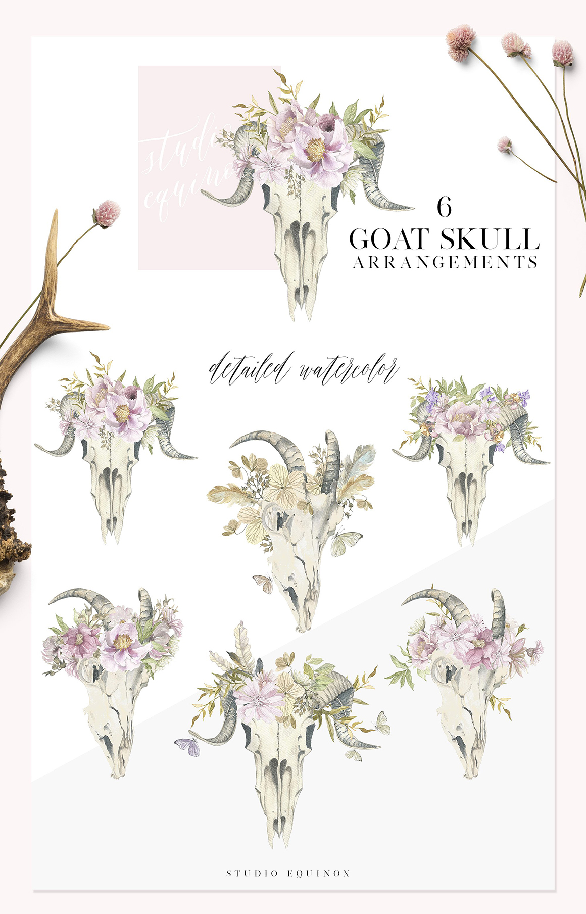 Montana Wild - A Rustic Floral Set