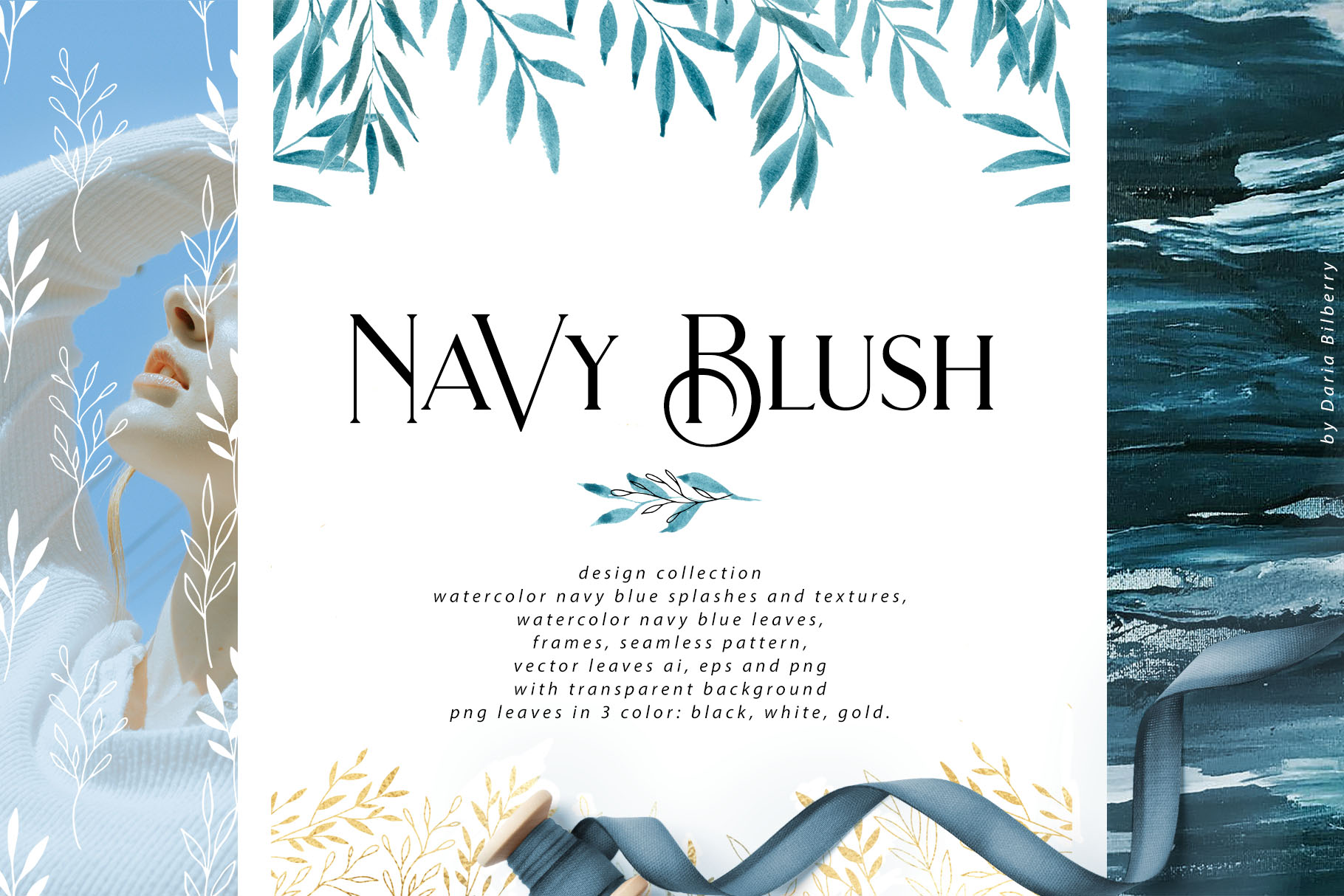 Navy Blush Collection
