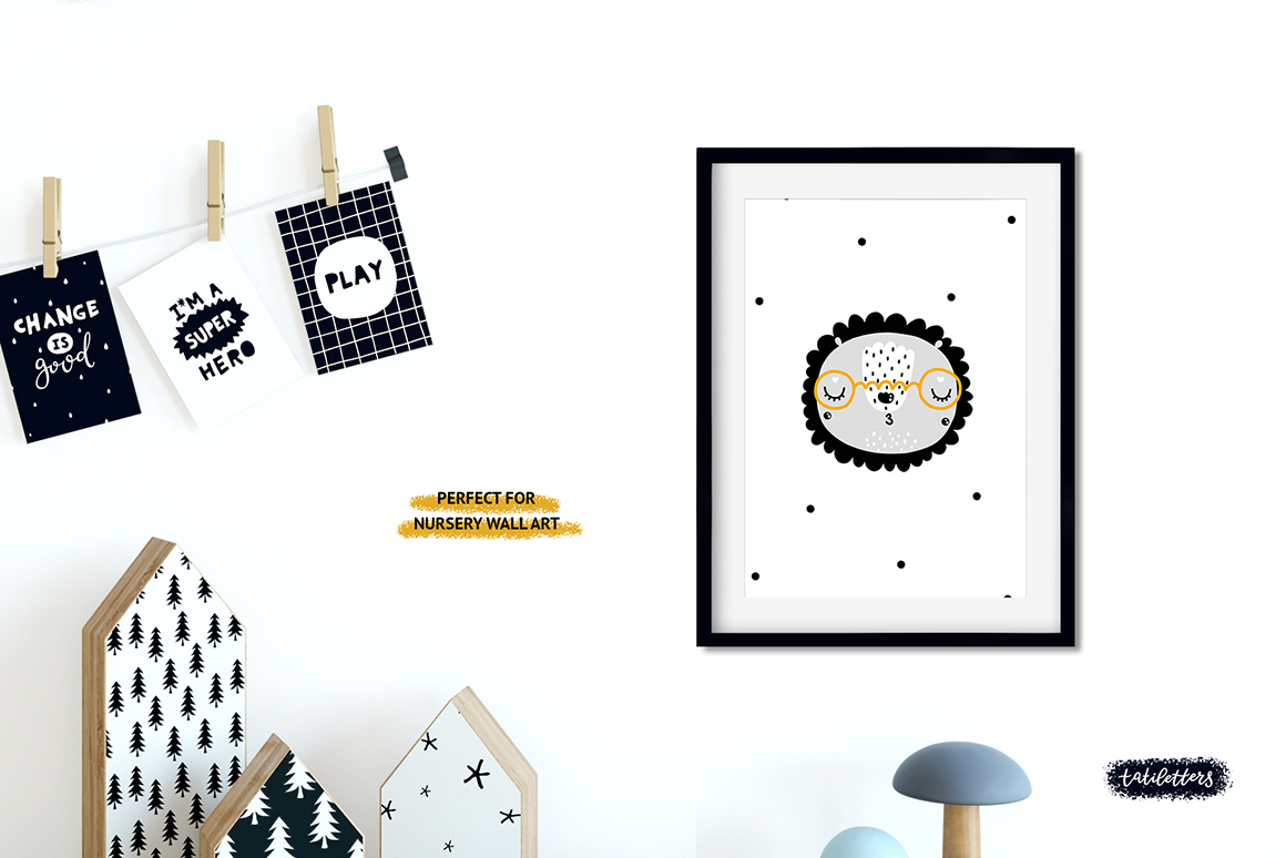 Nursery Wall Art Kids Posters