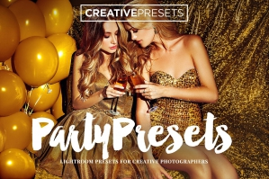 Party Presets For Adobe Lightroom