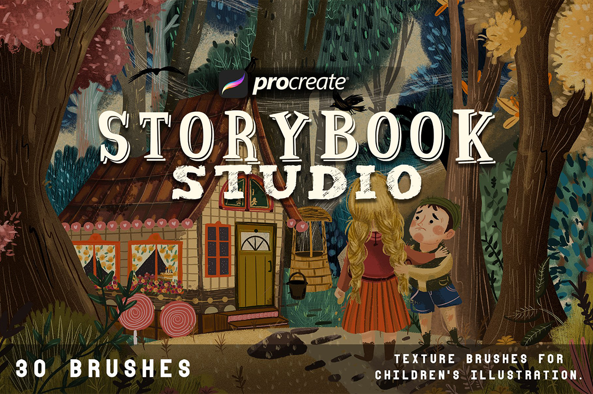 Storybook Studio For Procreate