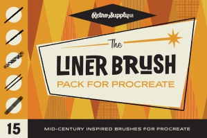 The-Liner-Brush-Procreate-Pack-cover