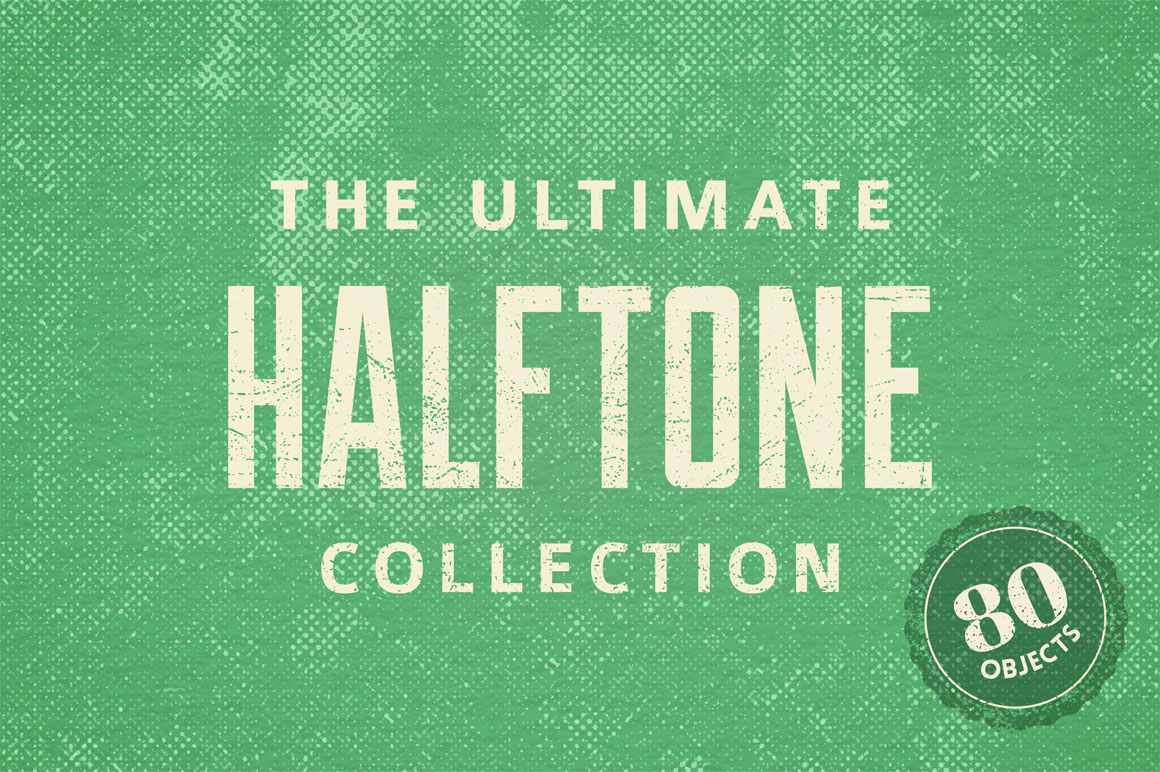 The Ultimate Halftone Collection