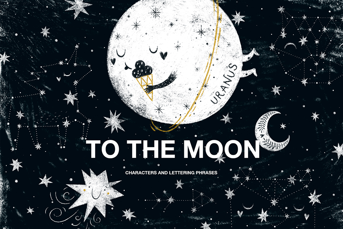 To The Moon - Space Characters