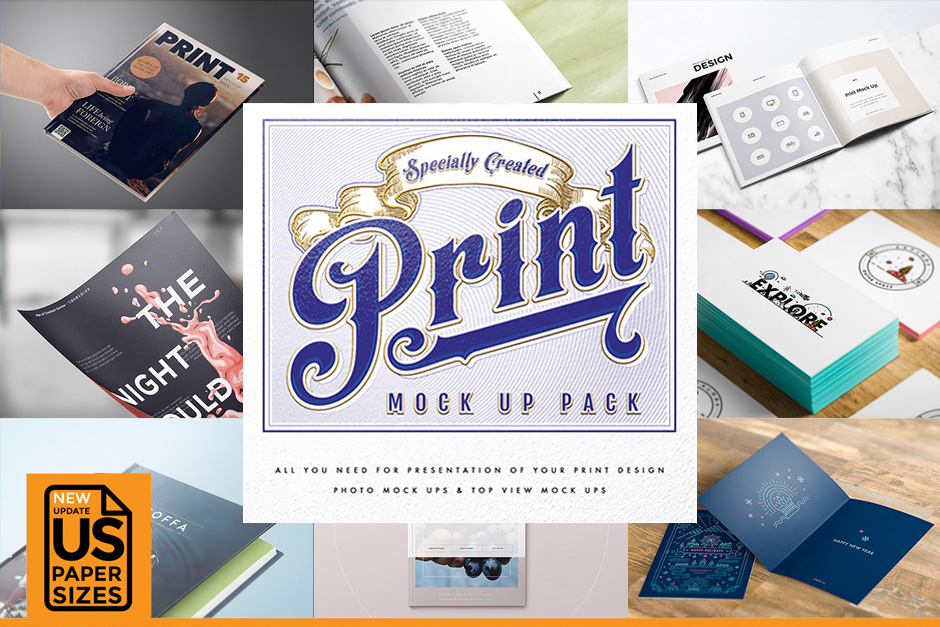 15 Mockups to Enhance your Design Work