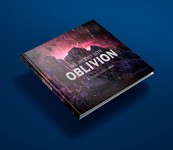 The Journey Into Oblivion Book Cover Design