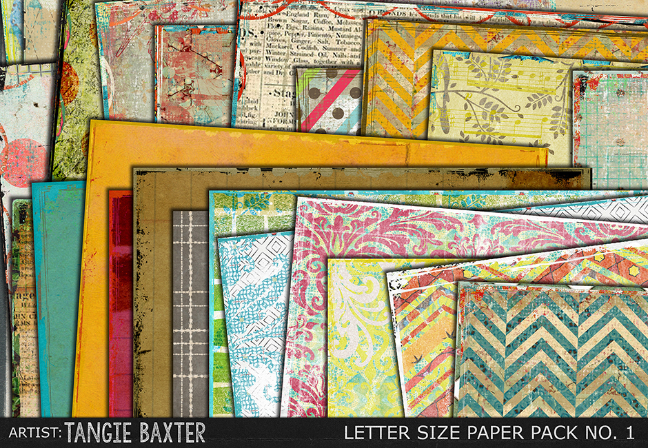 Ultimate Letter Size Paper Pack No. 1