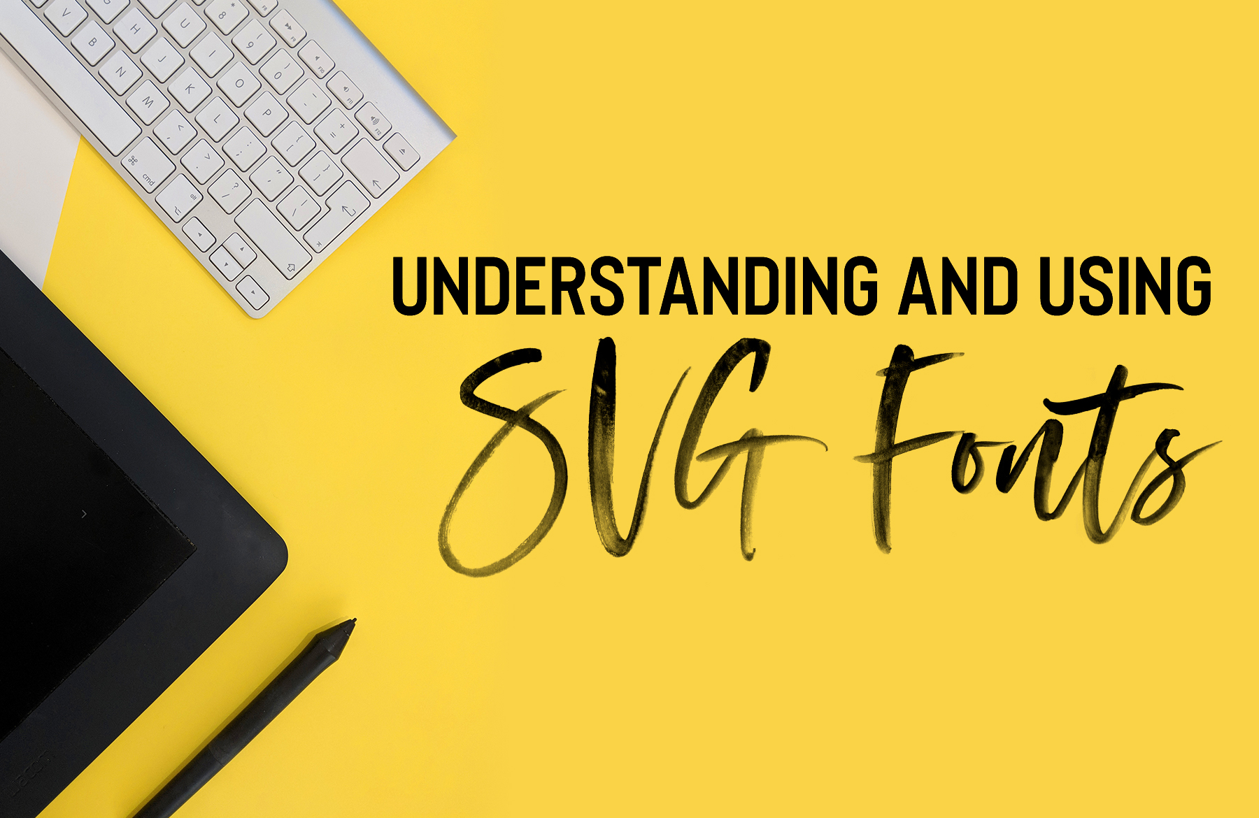 Understanding and Using SVG Fonts in Photoshop and Illustrator