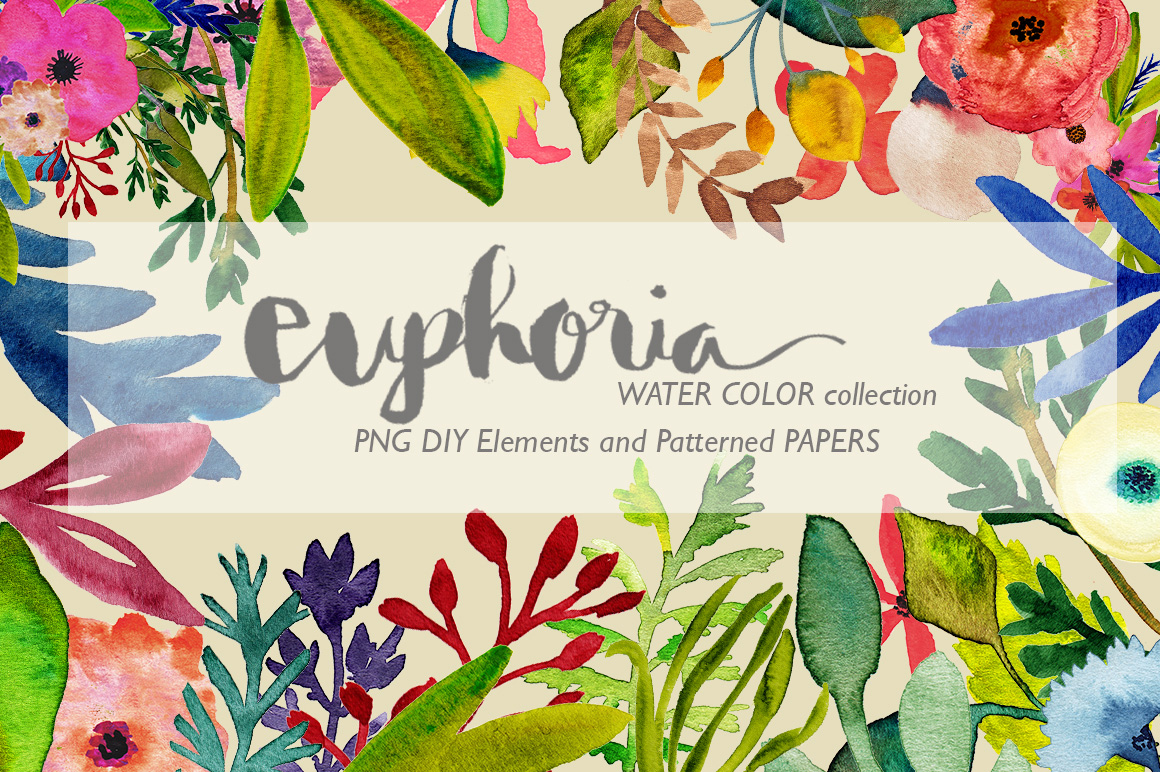 Euphoria Watercolor DIY Collection