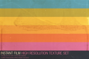 Expired Instant Film Texture Pack