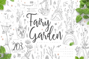 Fairy Garden - Magical Forest Illustrations