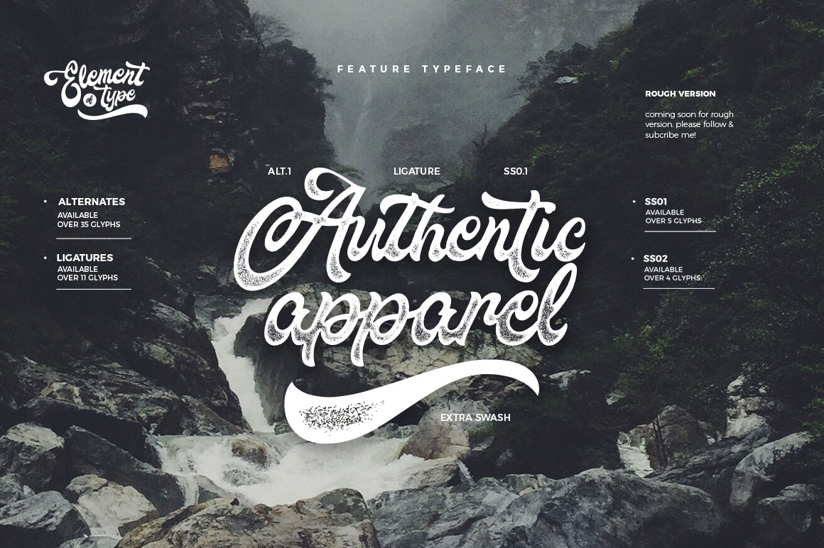 Fountain Typeface