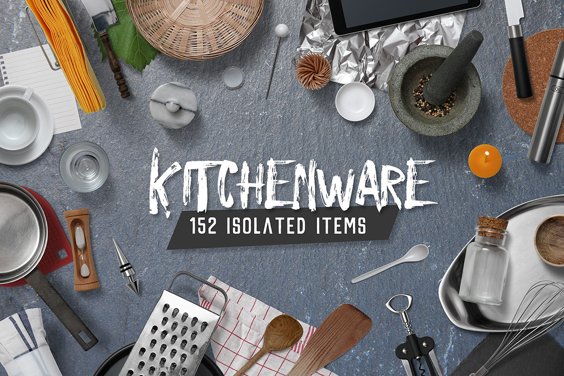 …Kitchenware - Isolated Food Items