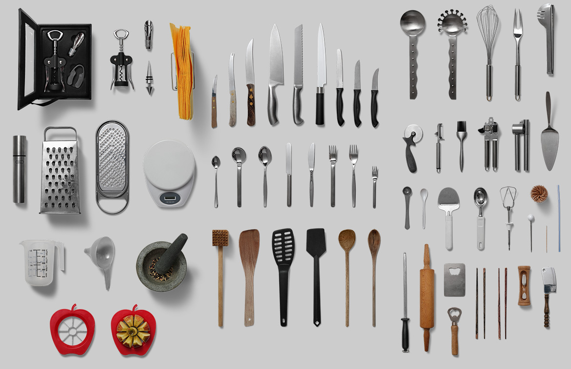Kitchenware - Isolated Food Items