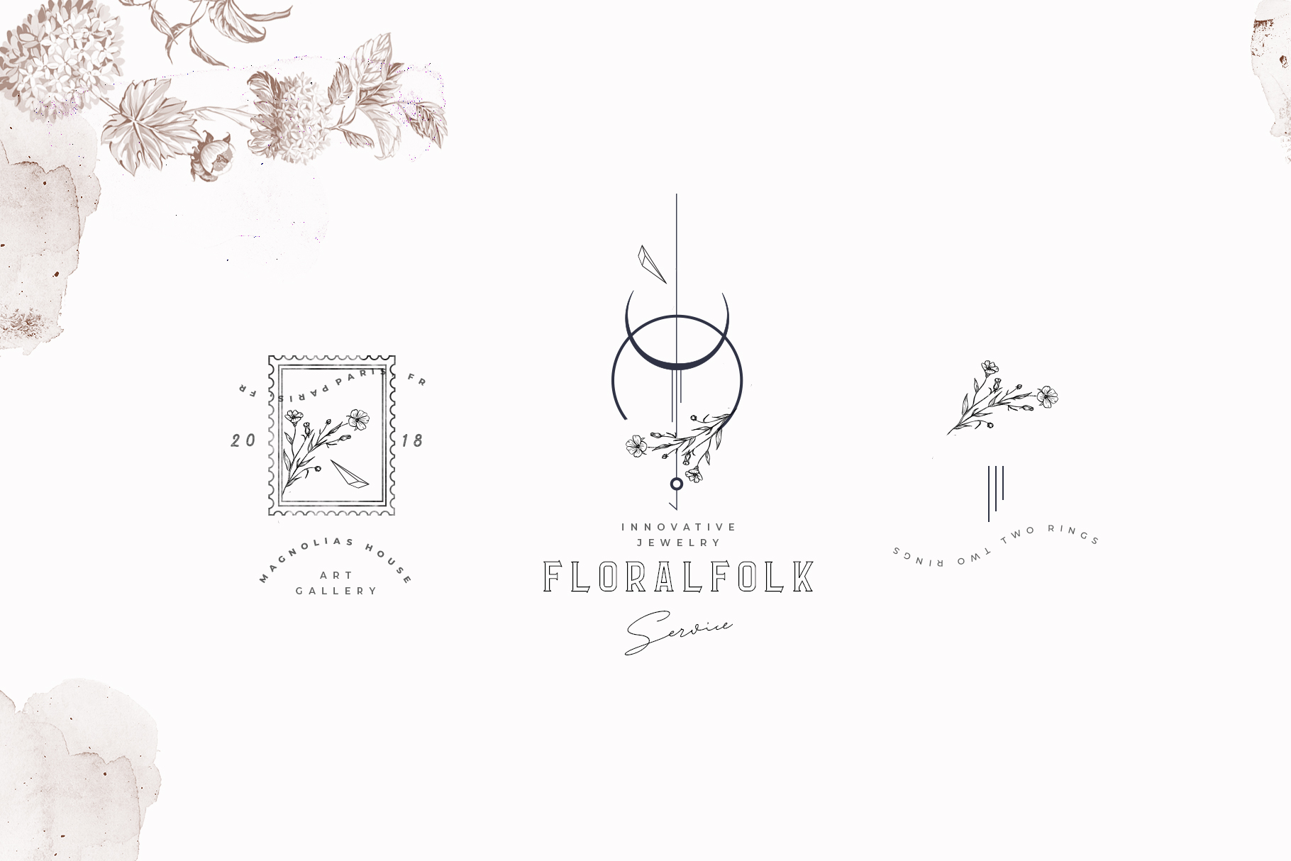 Logos Collection - Modern Flora