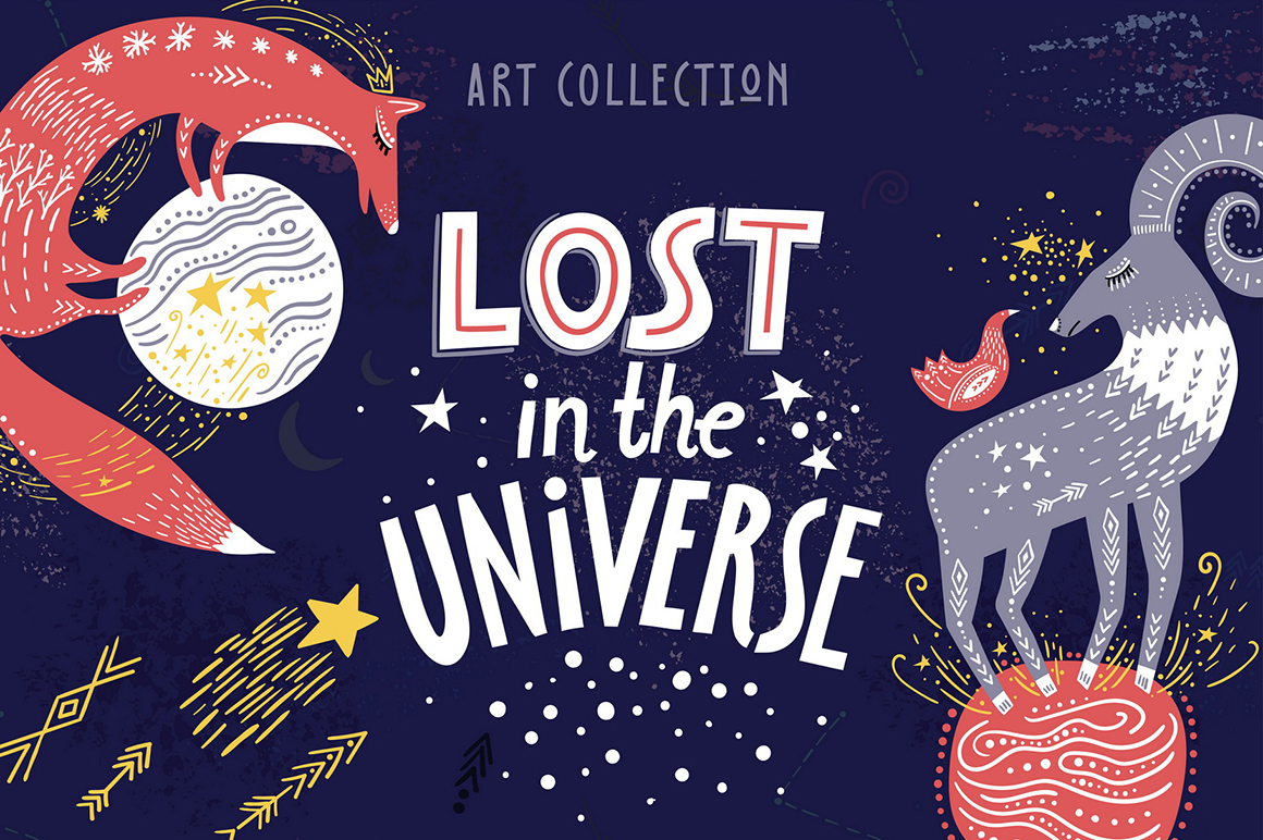 Lost In The Universe Art Collection